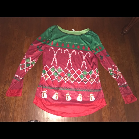 Party City Tops Christmas Sweater Poshmark